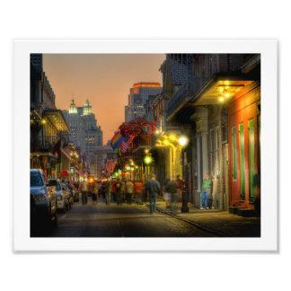 Bourbon Street Sunset Print Photo