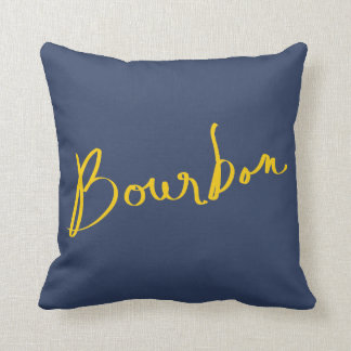 Bourbon Throw Pillow