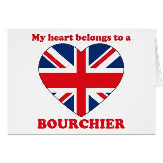Bourchier Tarjeta De Felicitación