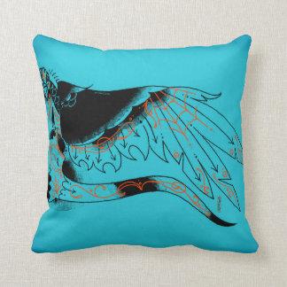 bourde throw pillows