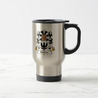 Bourdin Family Crest Coffee Mug