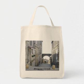 """Bourg-sur-Gironda "" Bolsa De Mano"