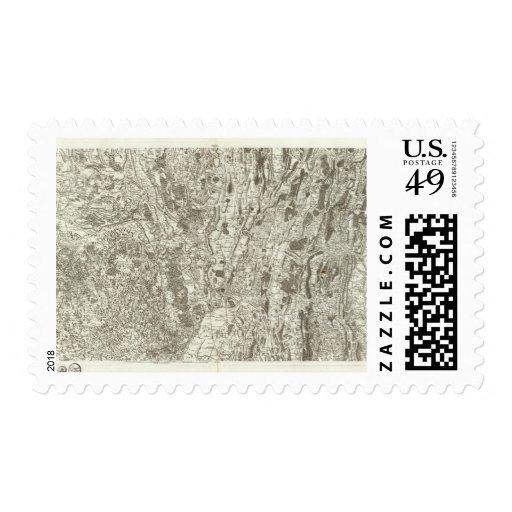Bourgen Bresse Sello Postal