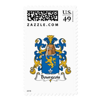 Bourgeois Family Crest Stamps
