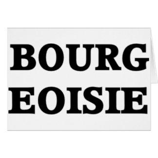 Bourgeoisie Card
