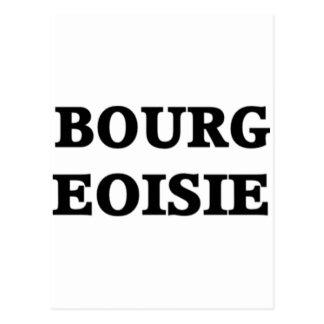 Bourgeoisie Postcard