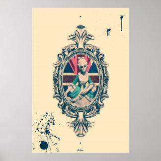 Bourgeoisie Woman Art Poster