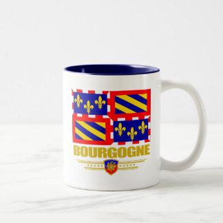 Bourgogne (Burgundy) Two-Tone Coffee Mug
