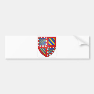 Bourgogne (France) Coat of Arms Bumper Stickers