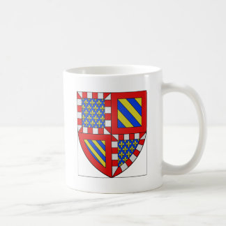 Bourgogne (France) Coat of Arms Classic White Coffee Mug