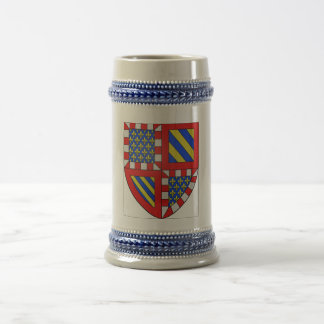 Bourgogne (France) Coat of Arms 18 Oz Beer Stein