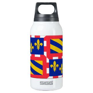 Bourgogne (France) Flag Thermos Water Bottle