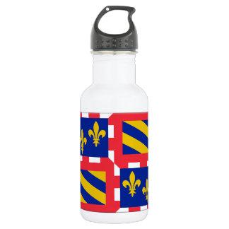 Bourgogne (France) Flag Water Bottle
