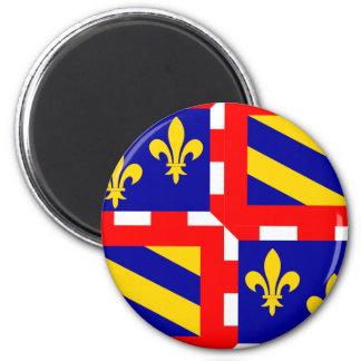 Bourgogne, France 2 Inch Round Magnet