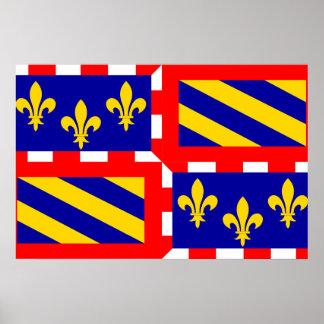 Bourgogne, France Poster