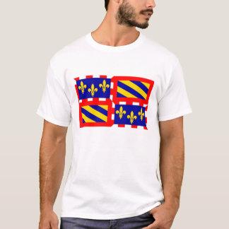 Bourgogne french region flag france country T-Shirt