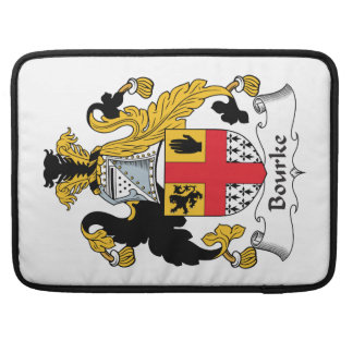 Bourke Family Crest Sleeve For MacBook Pro