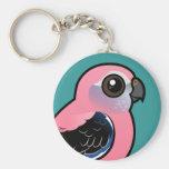 Bourke's Parakeet Basic Round Button Keychain