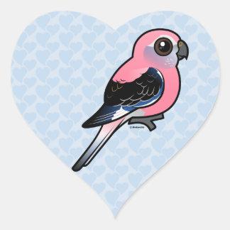Bourke's Parakeet Heart Sticker