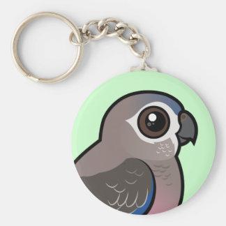 Bourke's Parrot Keychain