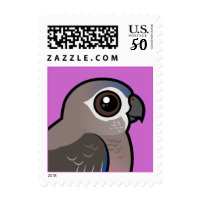 Bourke's Parrot Small Stamp 1.8