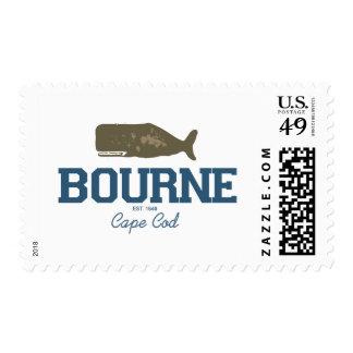 Bourne - bacalao de cabo sello postal