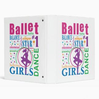 Bourne Ballet 3 Ring Binder