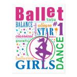 Bourne Ballet Postcard