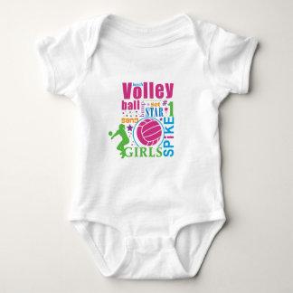 Bourne Beach Volleyball Baby Bodysuit