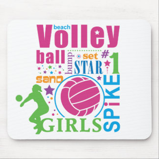 Bourne Beach Volleyball Mouse Pad