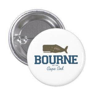 Bourne - Cape Cod. Pinback Button