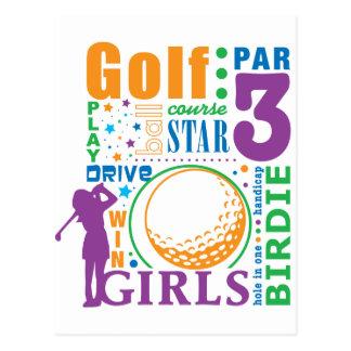 Bourne Golf Postcard