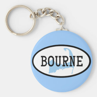 Bourne, MA Cape Cod Keychain