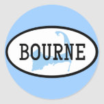 Bourne, MA Sticker