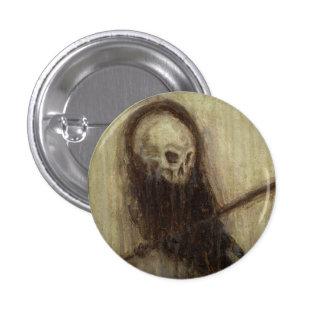 Bourne Skelecrow Death Raven Button