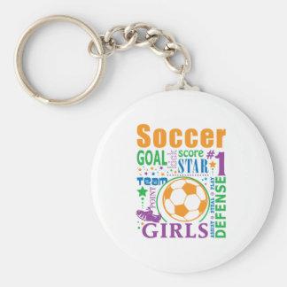 Bourne Soccer Keychains