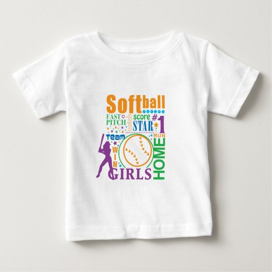 Bourne Softball Baby T-Shirt