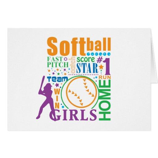 Bourne Softball Card