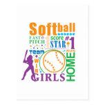 Bourne Softball Postcard