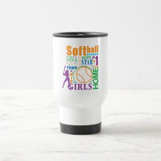 Bourne Softball Travel Mug