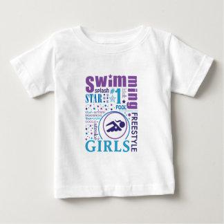Bourne Swimming Baby T-Shirt