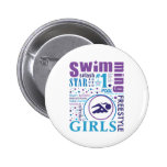 Bourne Swimming Buttons