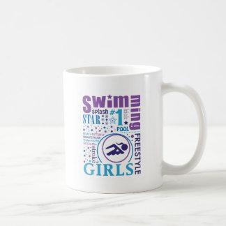Bourne Swimming Coffee Mug
