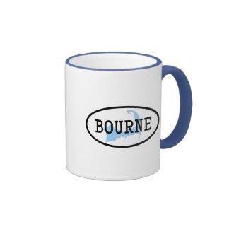 Bourne, taza de café del mA