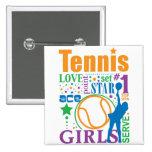 Bourne Tennis Pin