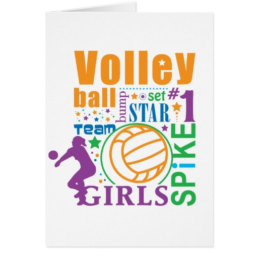 Bourne Volleyball Card