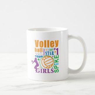 Bourne Volleyball Coffee Mug