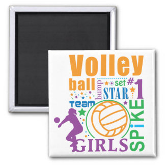 Bourne Volleyball Magnets
