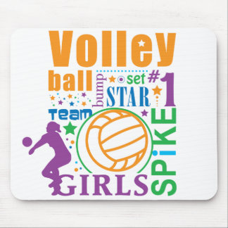 Bourne Volleyball Mouse Pad