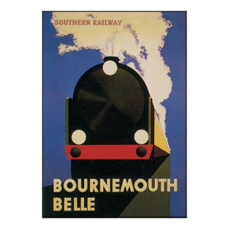 Bournemouth Belle Poster